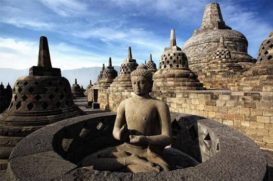 As the biggest Buddhist sanctuary on the planet, Borobudur in Magelang is the lead goal of Indonesia